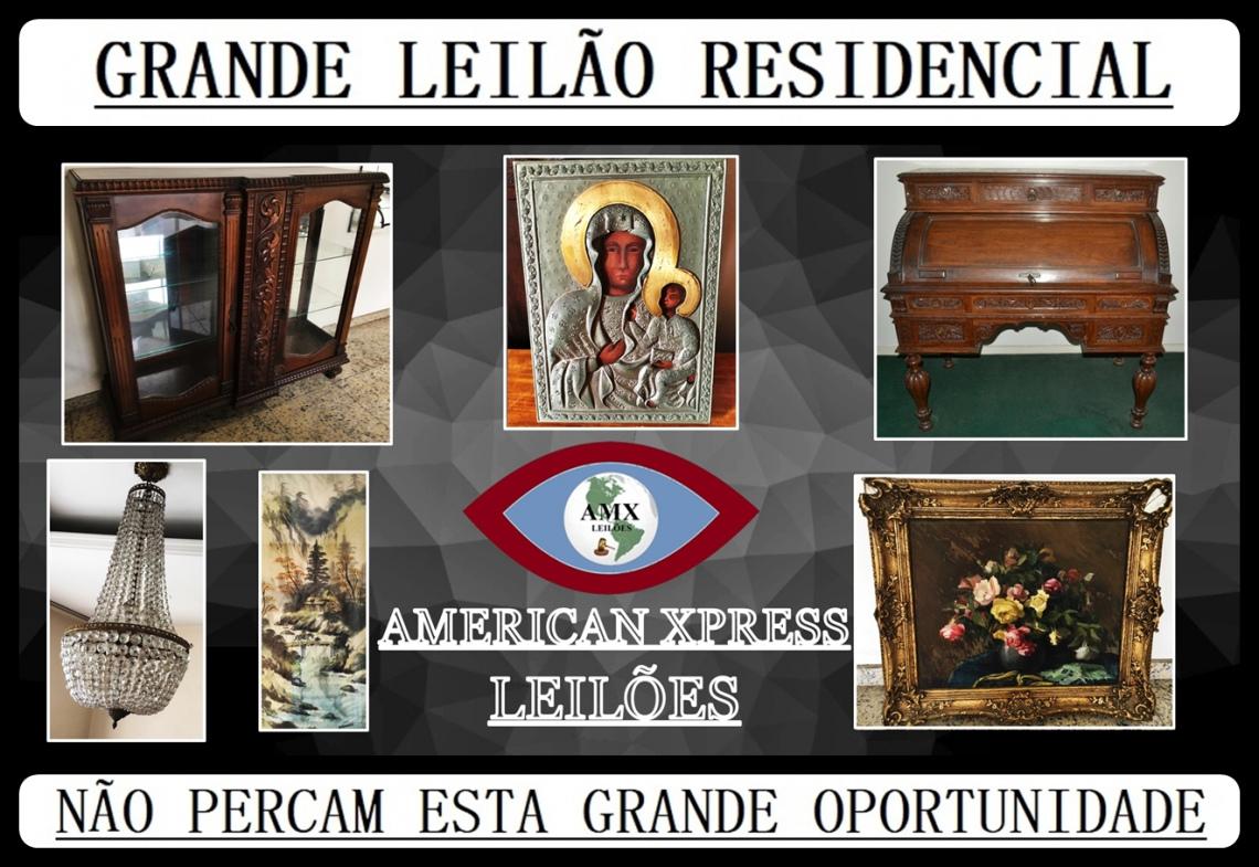 GRANDE LEILÃO RESIDENCIAL.