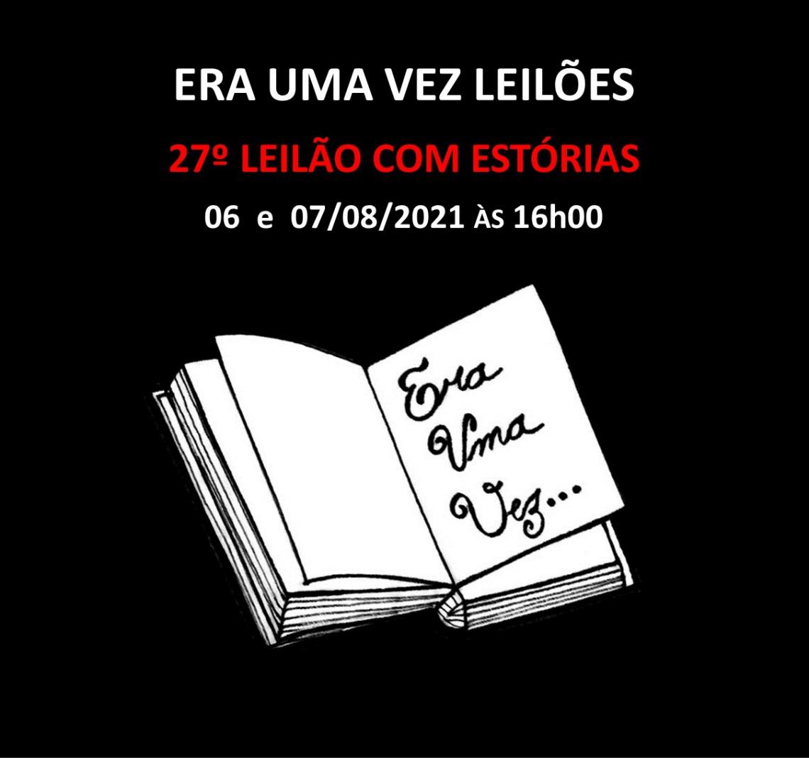 26º LEILÃO COM ESTÓRIAS - 03 e 05/07/2021 às 16h00