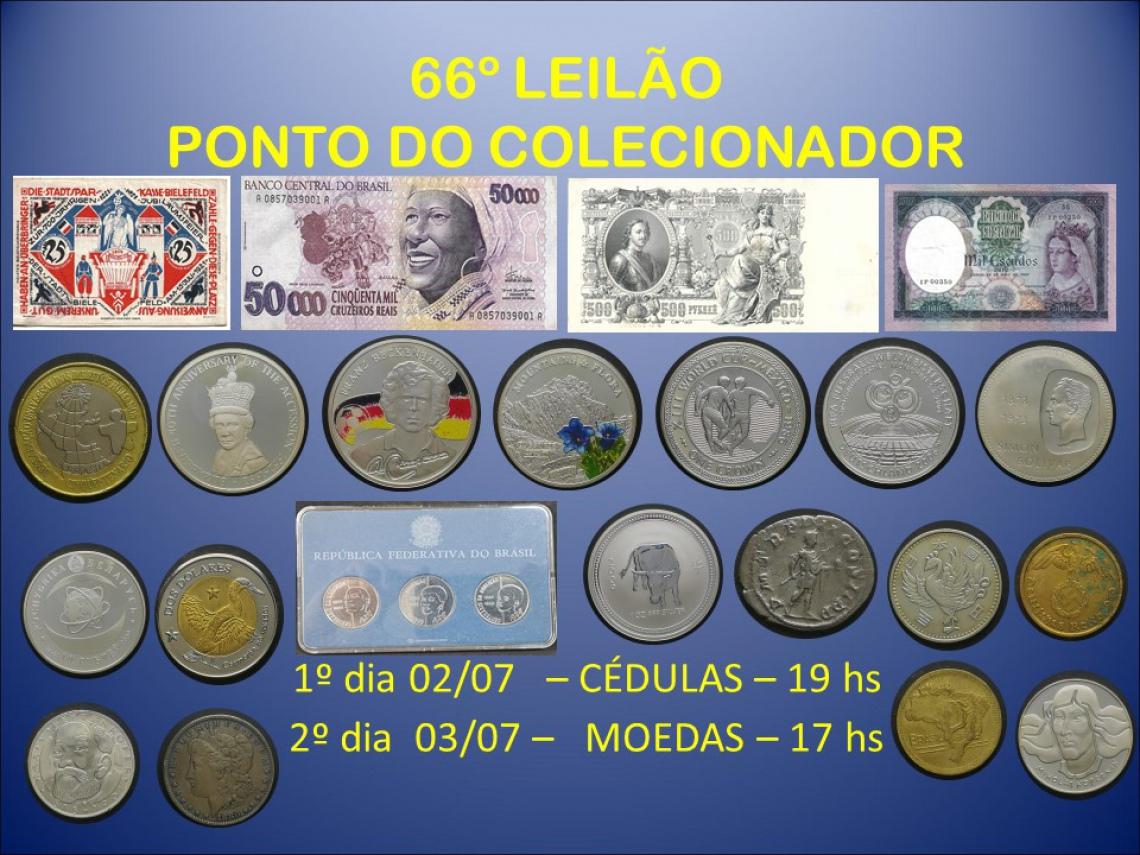 66º LEILÃO PONTO DO COLECIONADOR