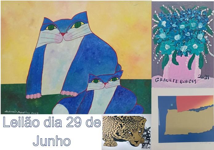 LEILÃO 21210 - GALERIA ARTE MR E SILVA