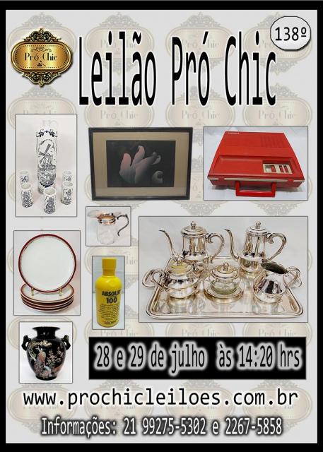 138º Leilão Pró Chic