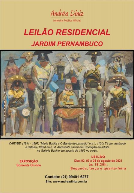 GRANDE LEILÃO RESIDENCIAL JARDIM PERNAMBUCO - LEBLON.