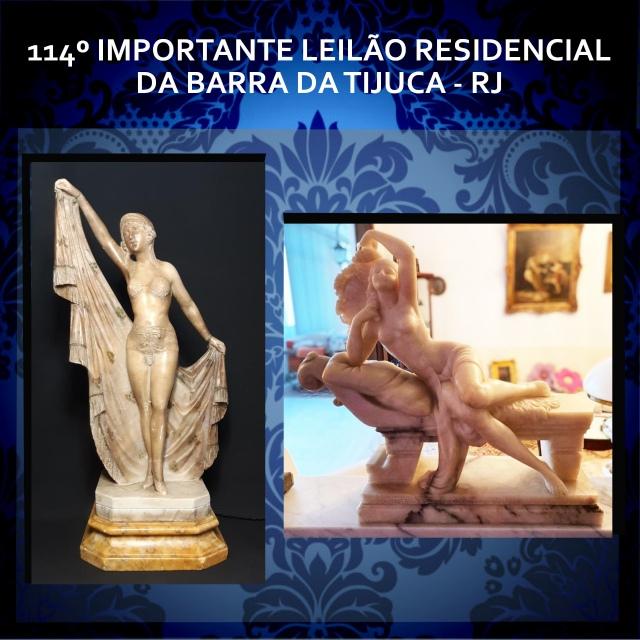 114º IMPORTANTE LEILÃO RESIDENCIAL DA BARRA DA TIJUCA - RJ