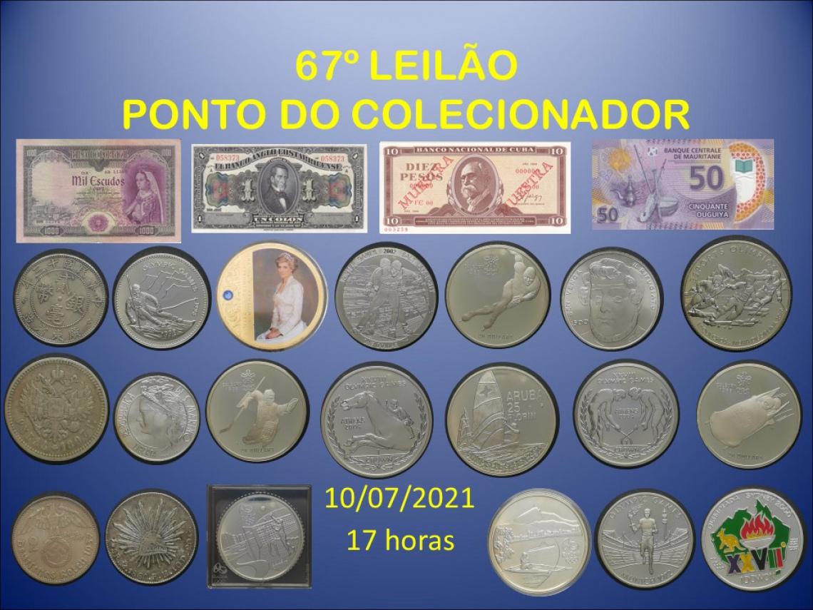 67º LEILÃO PONTO DO COLECIONADOR