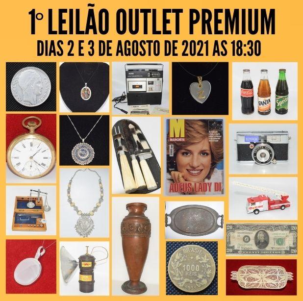 1º Leilão Outlet Premium de Antiguidades, Numismática e Colecionismo em Geral