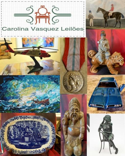 Leilão Isso Que É Bão -  Arte Oriental, Colecionismo, Miniaturas e Antiguidades.