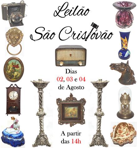 LEILÃO SÃO CRISTÓVÃO - AGOSTO 2021 - (21) 96501-5335