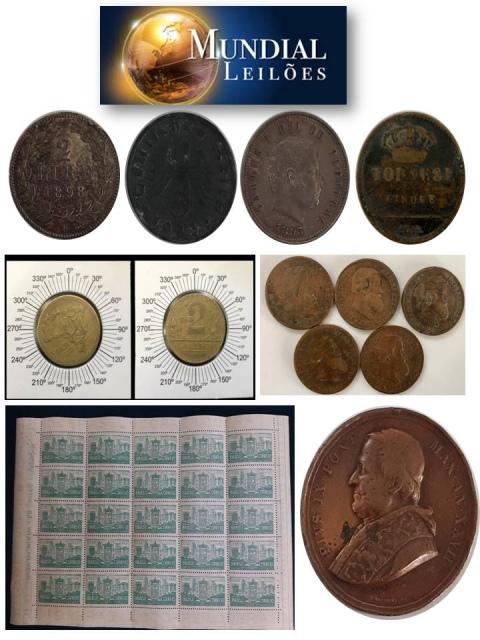 66º Leilão da Mundial Filatélica e Numismática