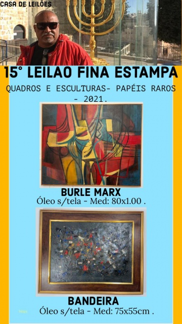14º LEILÃO FINA ESTAMPA CASA DE LEILÕES -  Leilão de quadros & papéis raros .