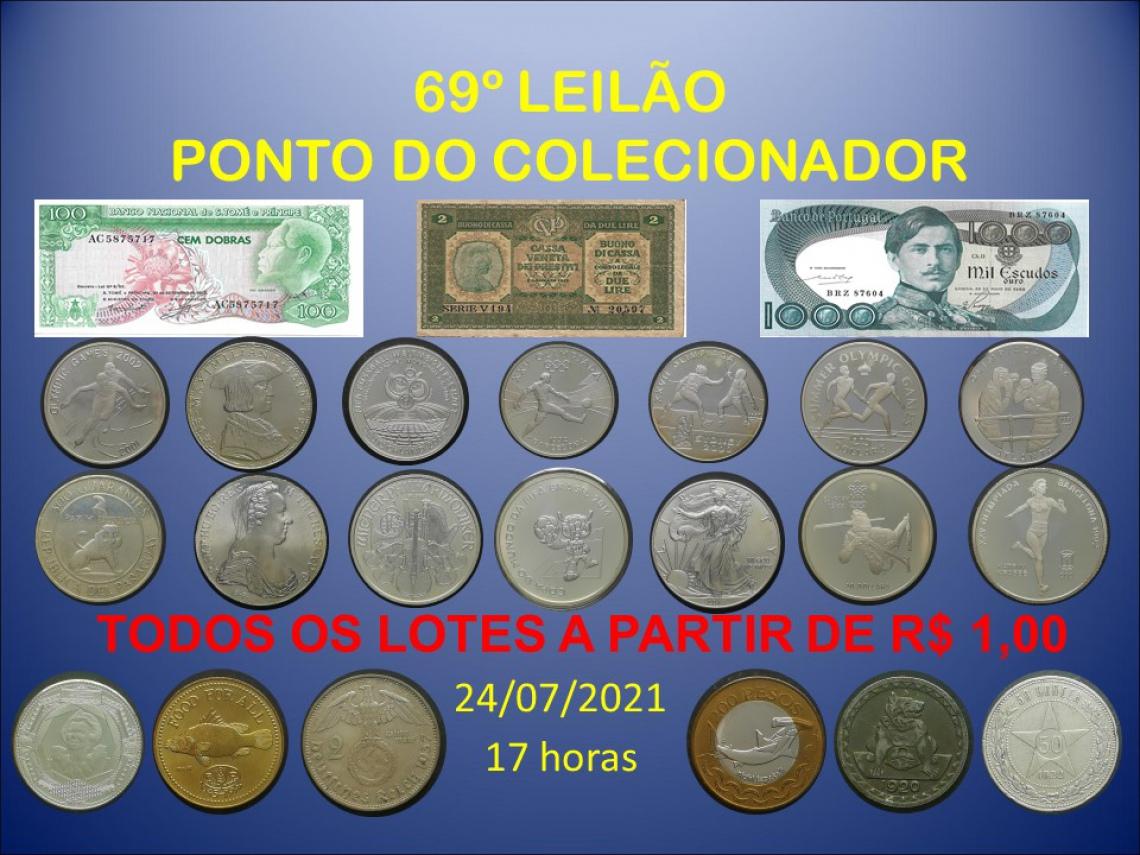 69º LEILÃO PONTO DO COLECIONADOR