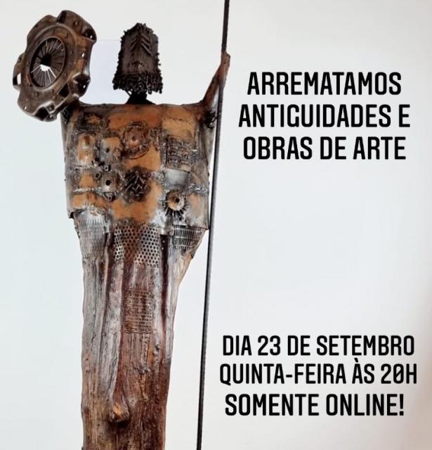 ARREMATAMOS ANTIGUIDADES E OBRAS DE ARTE