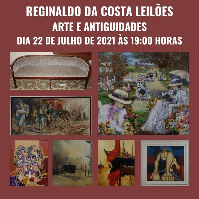 LEILÃO REGINALDO DA COSTA DE ARTE E ANTIGUIDADES