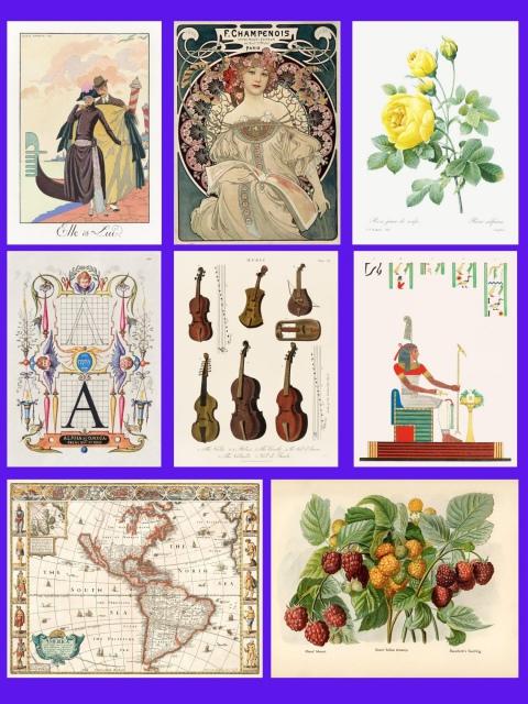 8º Leilão AG Bueno Coleções - Reproduções Vintage Art