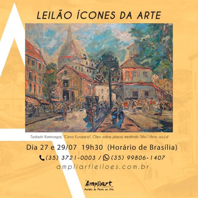 LEILÃO ÍCONES DA ARTE