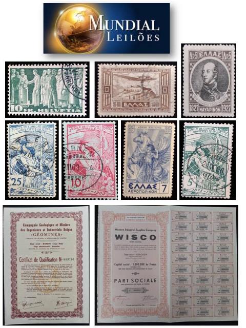 68º Leilão da Mundial Filatélica e Numismática