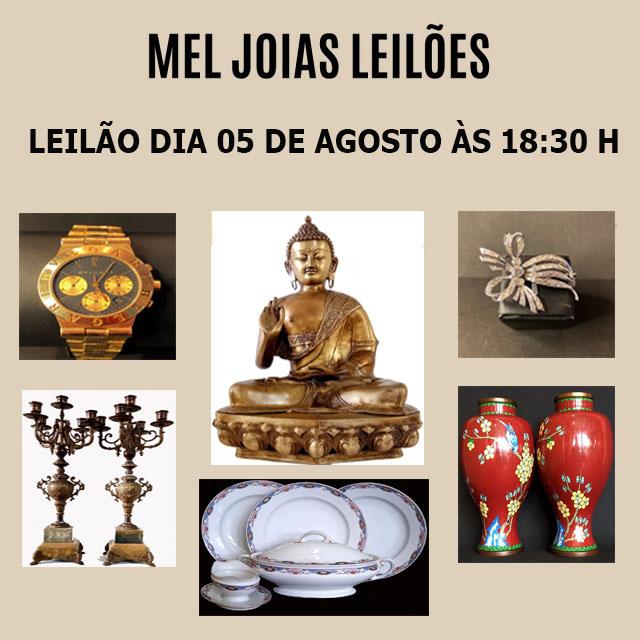 MEL  JOIAS LEILÕES DE ARTES E ANTIGUIDADES