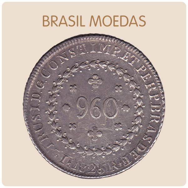 Coleção de Moedas Brasileiras da Prata ao Real