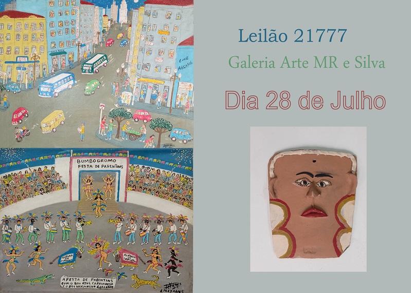 LEILÃO GALERIA ARTE MR E SILVA