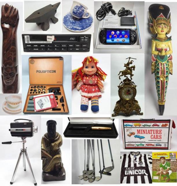 18º Leilão ANTIG de Artes, Brinquedos e Colecionismo