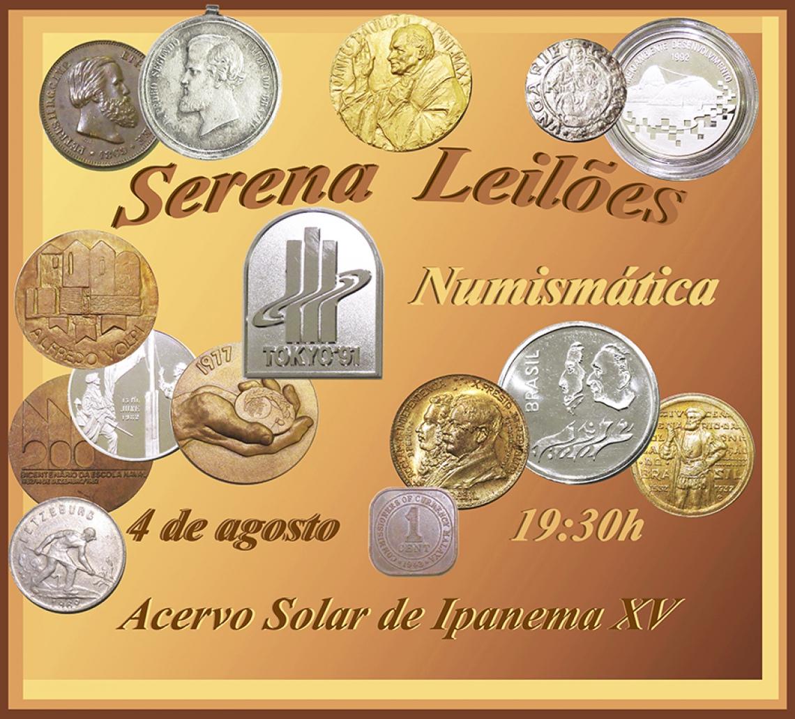 Serena Leilões  - Numismática - Acervo Solar de Ipanema XV
