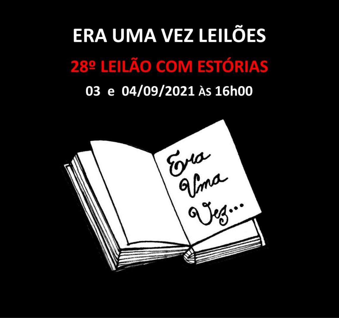 27º LEILÃO COM ESTÓRIAS - 06 e 07/08/2021 às 16h00