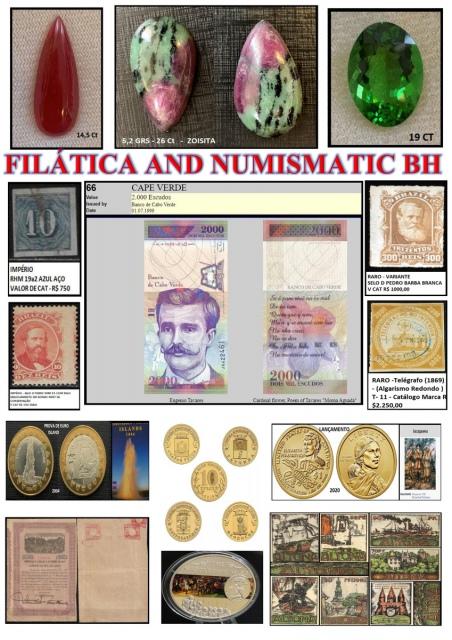 123º LEILÃO FILATICA AND NUMISMATIC BH