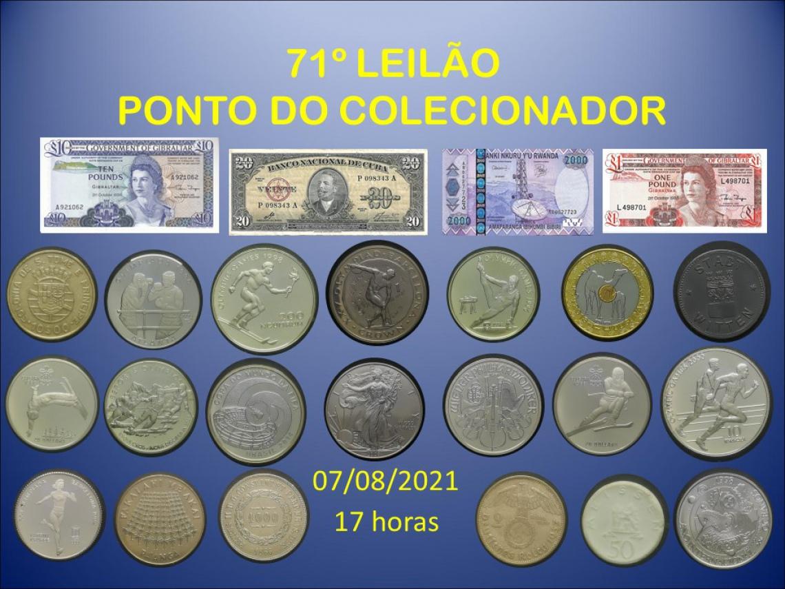 71º LEILÃO PONTO DO COLECIONADOR