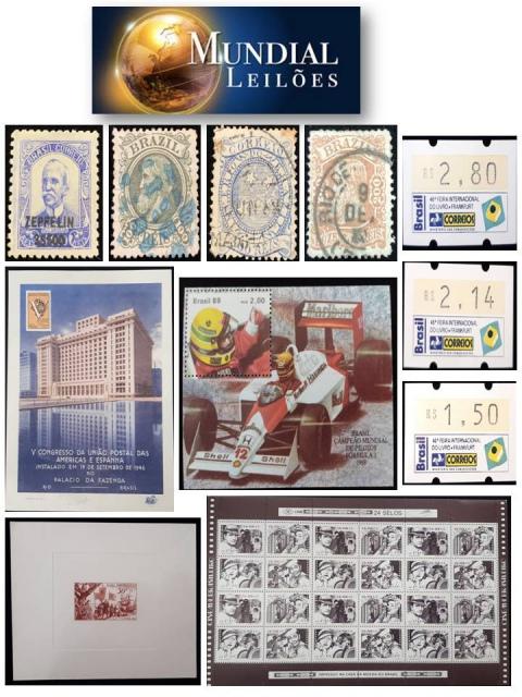 69º Leilão da Mundial Filatélica e Numismática