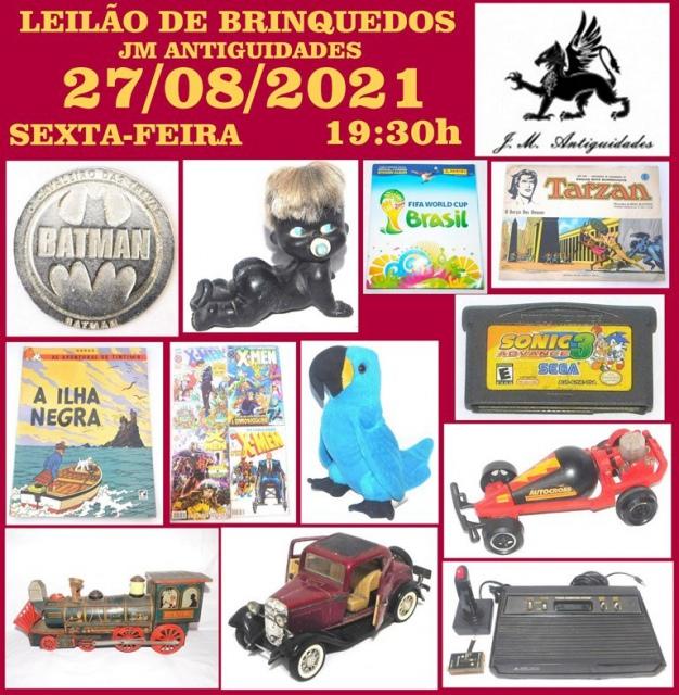 LEILÃO JM ANTIGUIDADES IX
