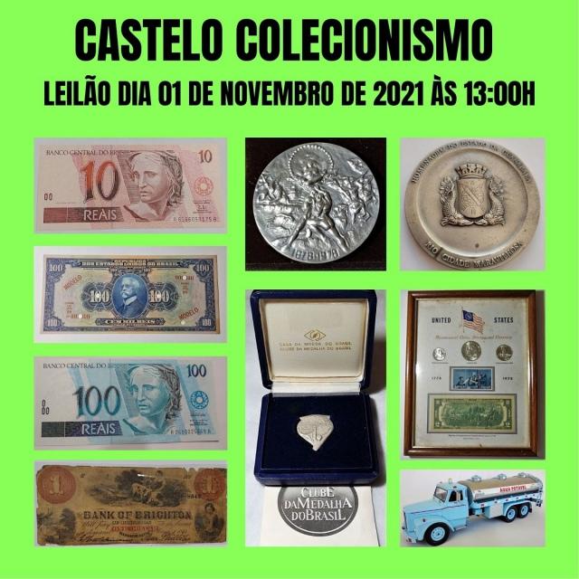 5º LEILÃO CASTELO COLECIONISMO