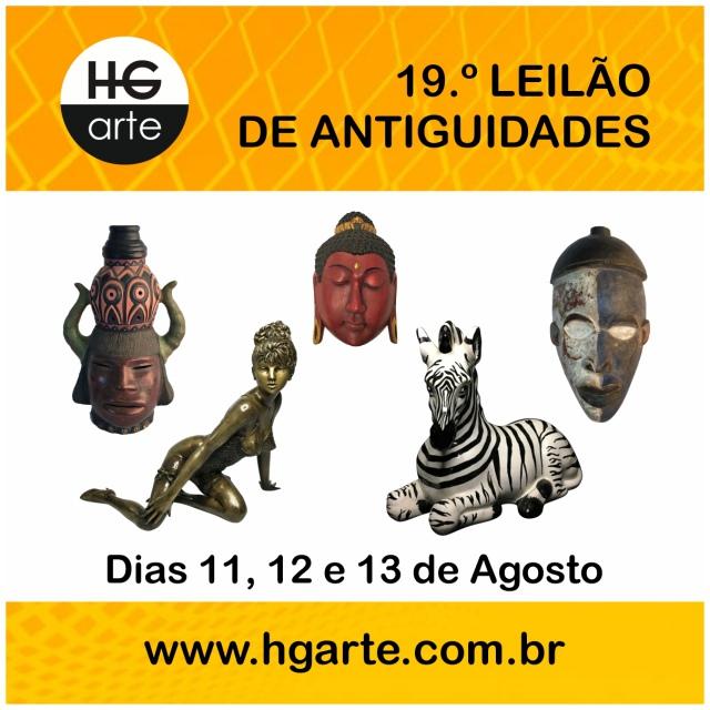 HG ARTE - 19.º LEILÃO DE ARTE E ANTIGUIDADES