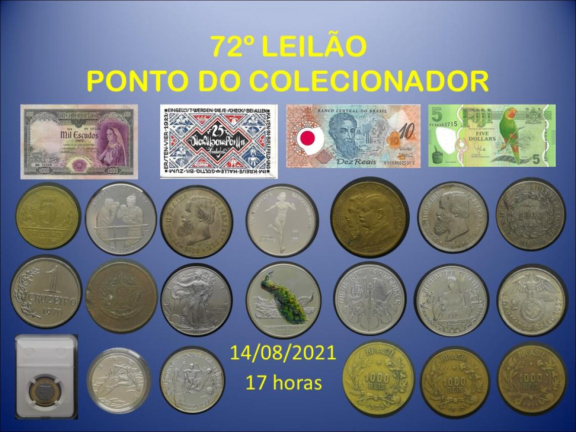 72º LEILÃO PONTO DO COLECIONADOR