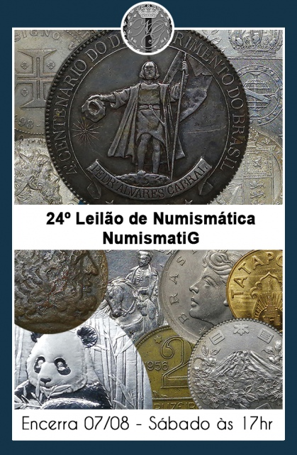 24º LEILÃO DE NUMISMÁTICA - NUMISMATIG LEILÕES