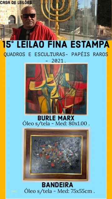 15º LEILÃO FINA ESTAMPA CASA DE LEILÕES - Leilão de quadros e papéis raros.