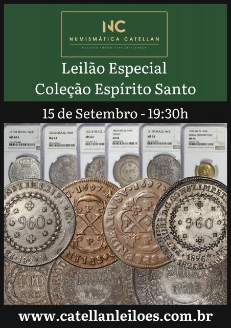 LEILÃO ESPECIAL - COLEÇÃO ESPIRITO SANTO