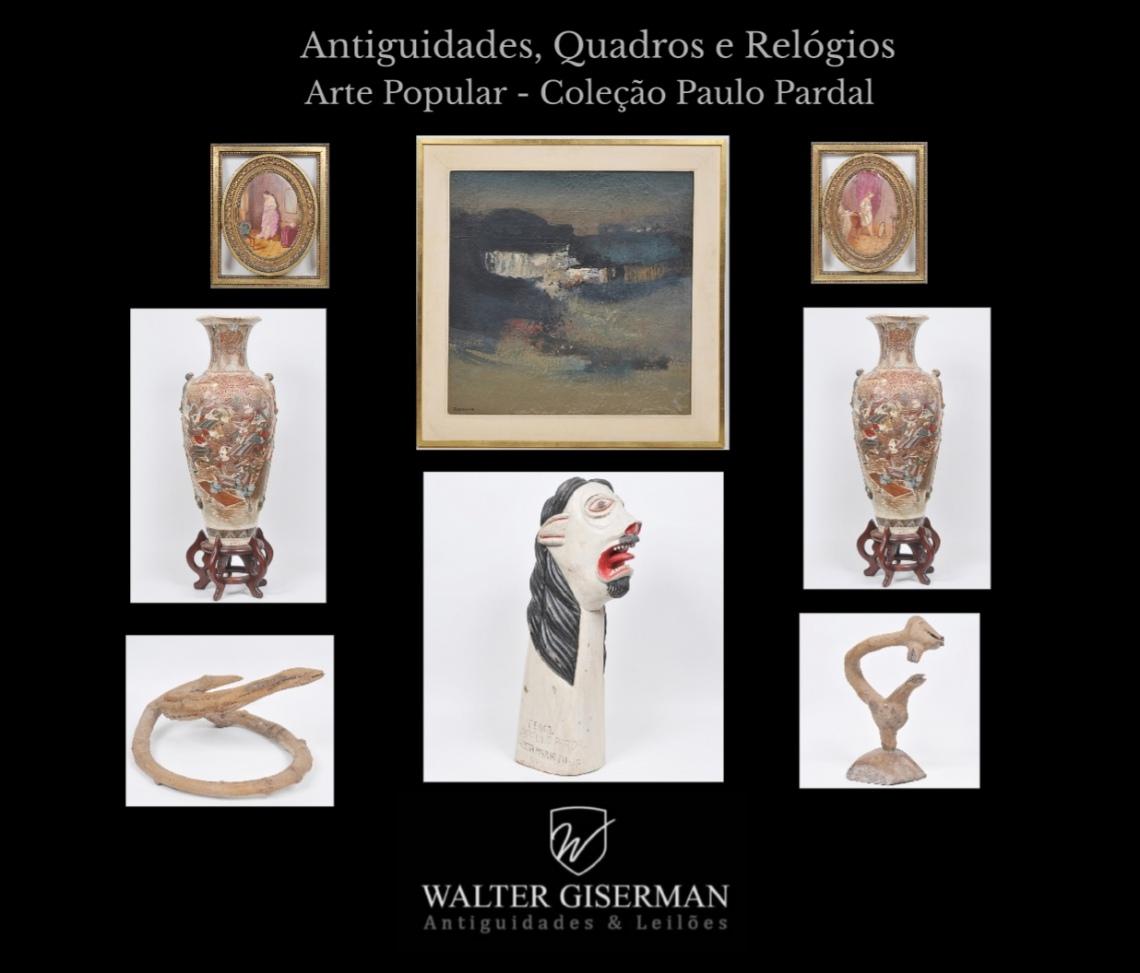 WALTER GISERMAN - LEILÃO DE ARTE E ANTIGUIDADES -  OUTUBRO DE 2021