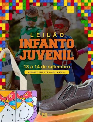 LEILÃO INFANTO-JUVENIL
