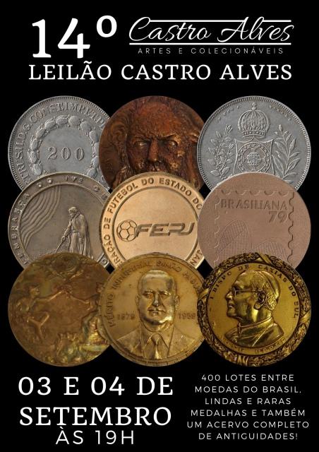 14º Leilão Castro Alves de Antiguidades e Numismática