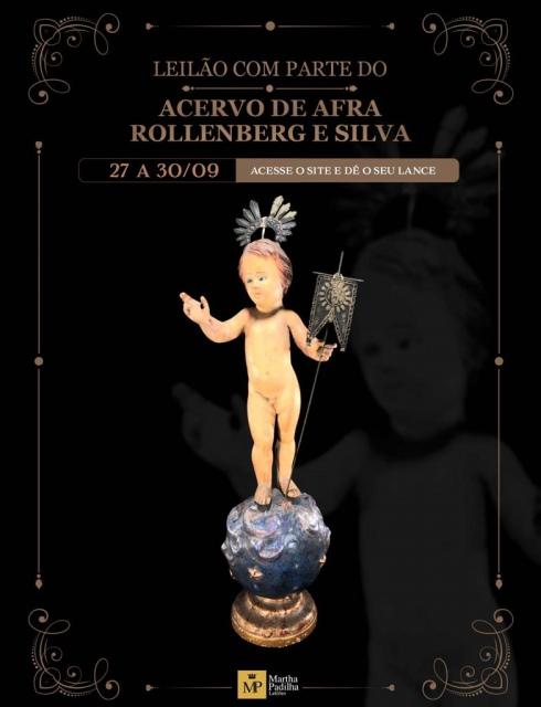 LEILÃO COM PARTE DO ACERVO DE AFRA ROLLENBERG E SILVA