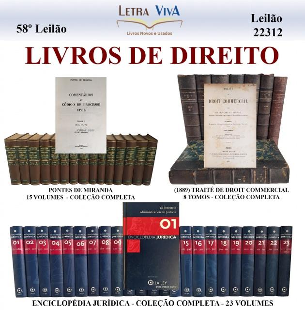 58º LEILEILÃO LETRA VIVA - LIVROS DE DIREITO