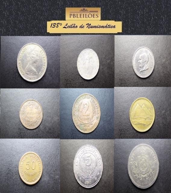 138º Leilão de Numismática