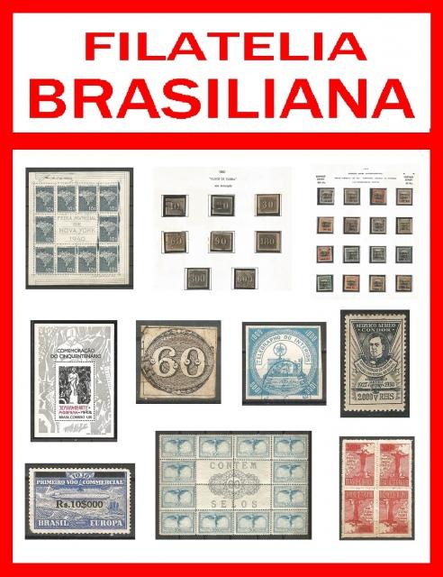 FILATELIA BRASILIANA - SETEMBRO 2021