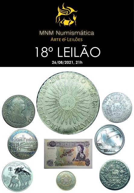 18º LEILÃO MNM NUMISMÁTICA ARTE E LEILÕES