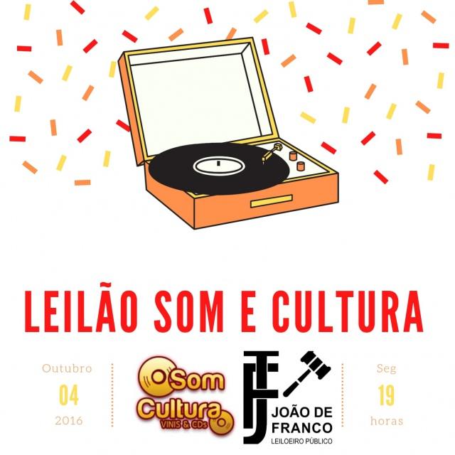 1º LEILÃO SOM CULTURA VINIS E CDS