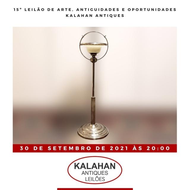 15º LEILÃO DE ARTE, ANTIGUIDADES E OPORTUNIDADES