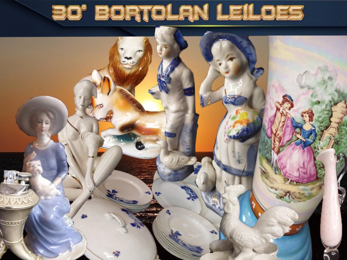 30º LEILÃO BORTOLAN DE COLECIONAVEIS E ANTIGUIDADES