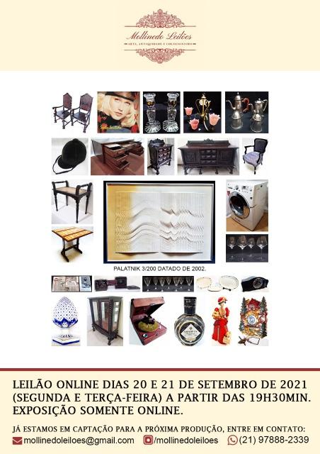 MOLLINEDO LEILÕES- Arte, Antiguidade e Colecionismo