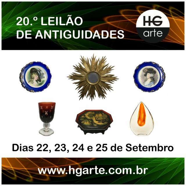 HG ARTE - 20.º LEILÃO DE ARTE E ANTIGUIDADES