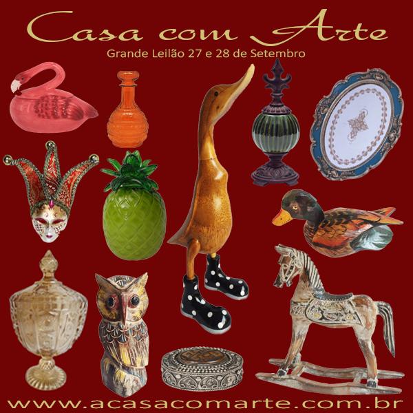 GRANDE LEILÃO CASA COM ARTE