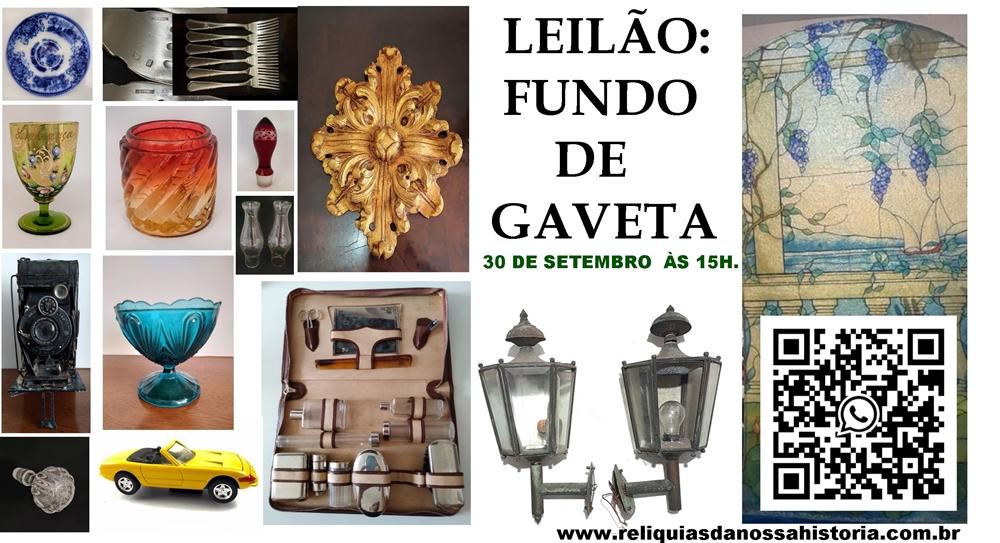 Leilão FUNDO DE GAVETA: tampas, acessórios, puxadores e muito mais!
